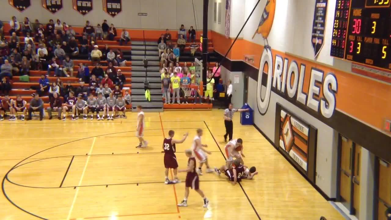 Lennox High School vs. Madison - Marshall McClaren highlights