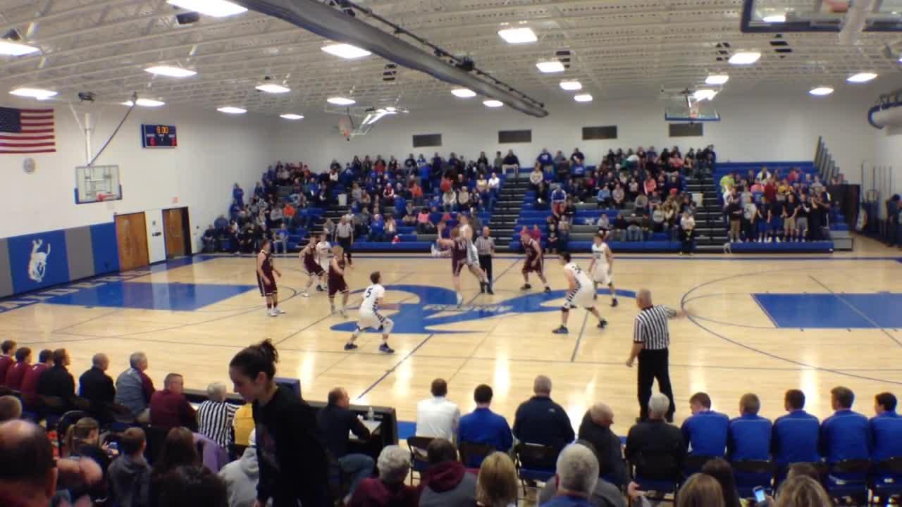 Anamosa High School Vs Independence High School Boys Varsity Basketball Tyler Zumbach