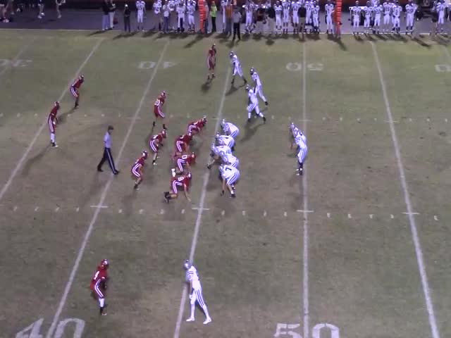 Brett Taff's Highlights playing football for Randall High School in Amarillo,  TX