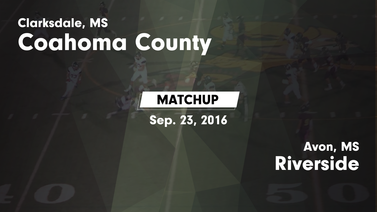 Mississippi coahoma county sherard - Matchup Coahoma County High Vs Riverside 2016