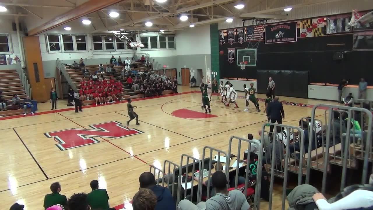 Seneca Valley High School vs. Northwood High - Quentin Twyman highlights