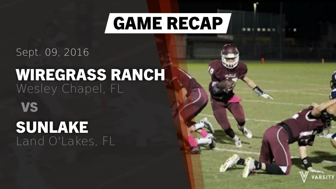 Recap: Wiregrass Ranch vs. Sunlake 2016 - Wiregrass Ranch ...
