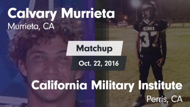 Warriors Football   Calvary Murrieta Christian School   Murrieta, California    Football   Hudl